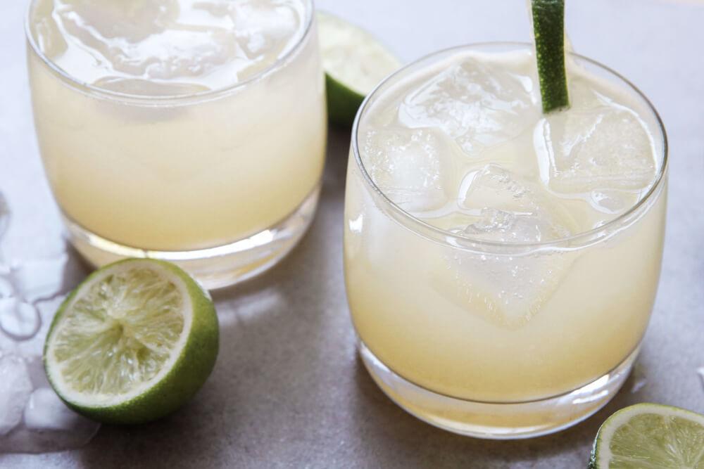 Ginger Lime Margaritas - Jessi's Kitchen
