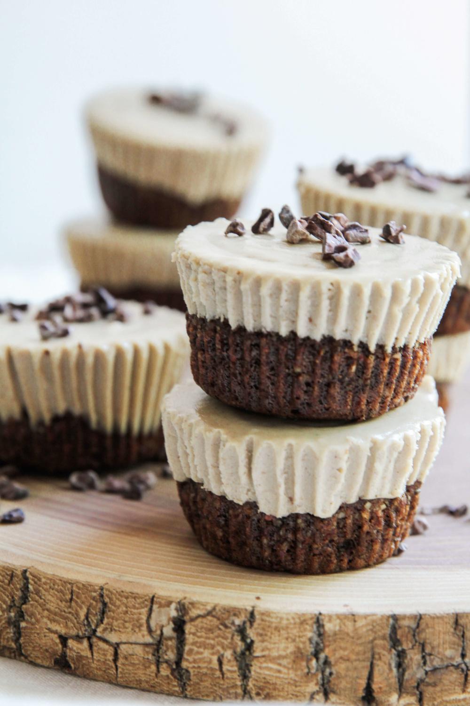 Coffee and Cacao Nib Vegan Cheesecake - Jessi's Kitchen