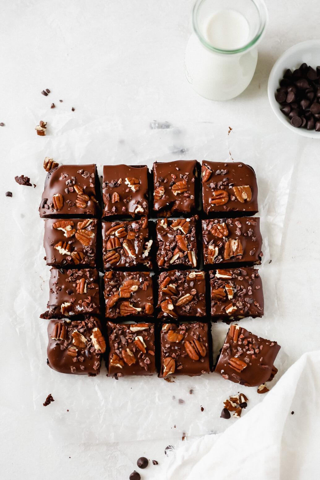 Almond Flour Ganache Brownies: Jessi's Kitchen