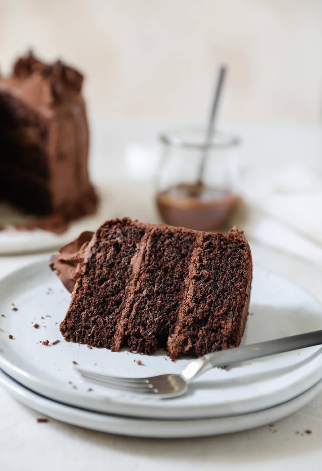 Oat Flour Chocolate Zucchini Cake: Jessi's Kitchen