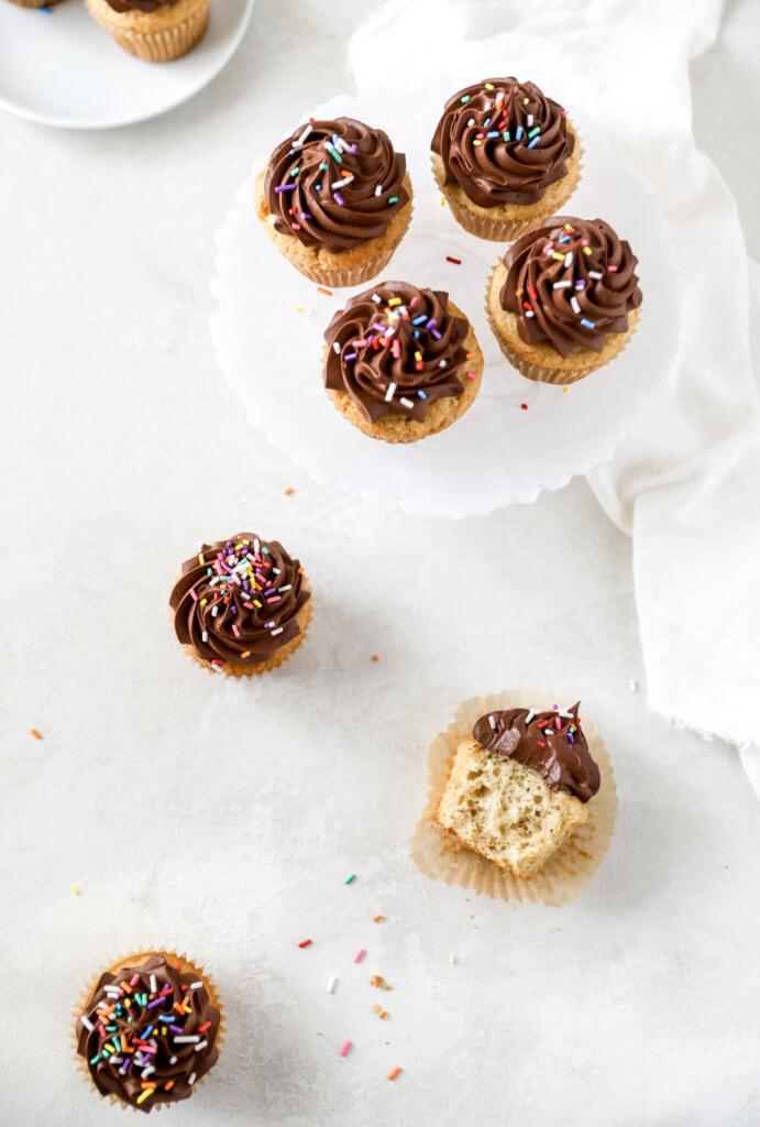 How to Make the Best Gluten-free Vanilla Cupcakes from Scratch: Jessi's Kitchen