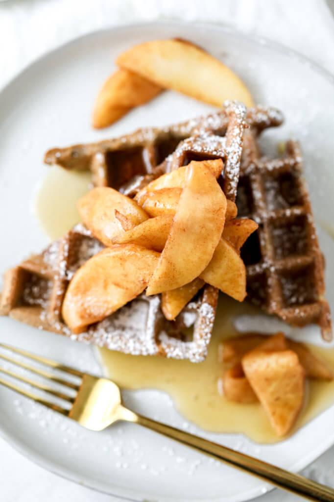The Best Gluten-free Apple Cider Buckwheat Waffles: Jessi's Kitchen