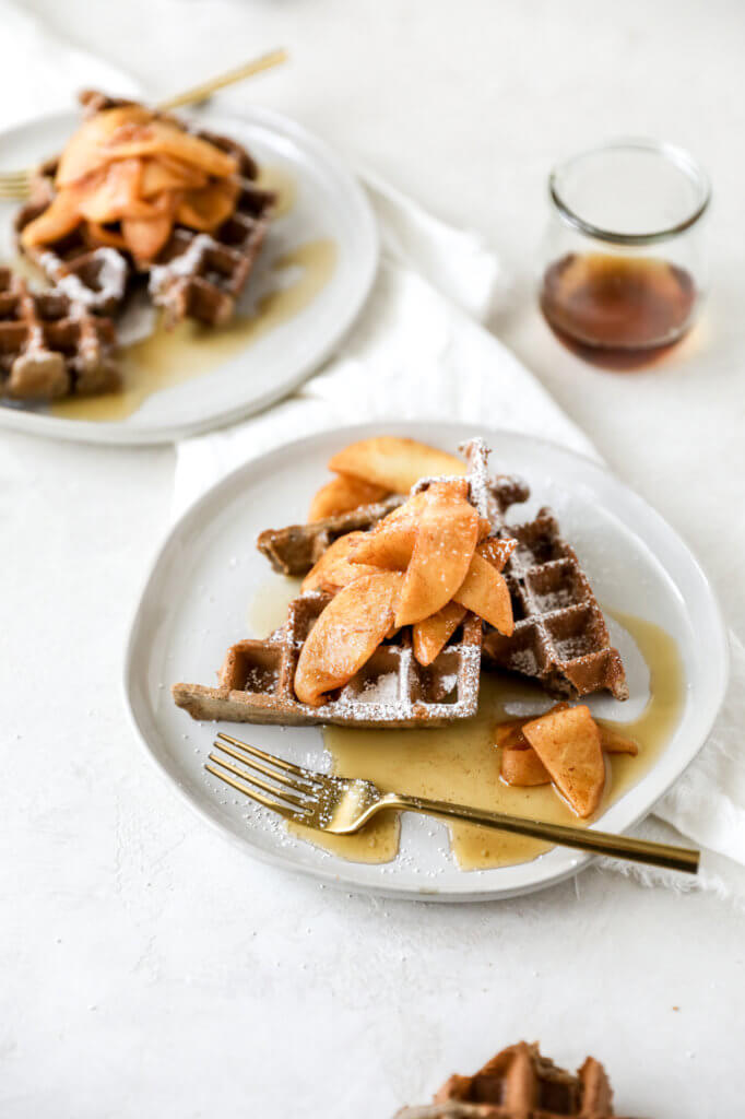 Apple Cider Buckwheat Waffles: Jessi's Kitchen