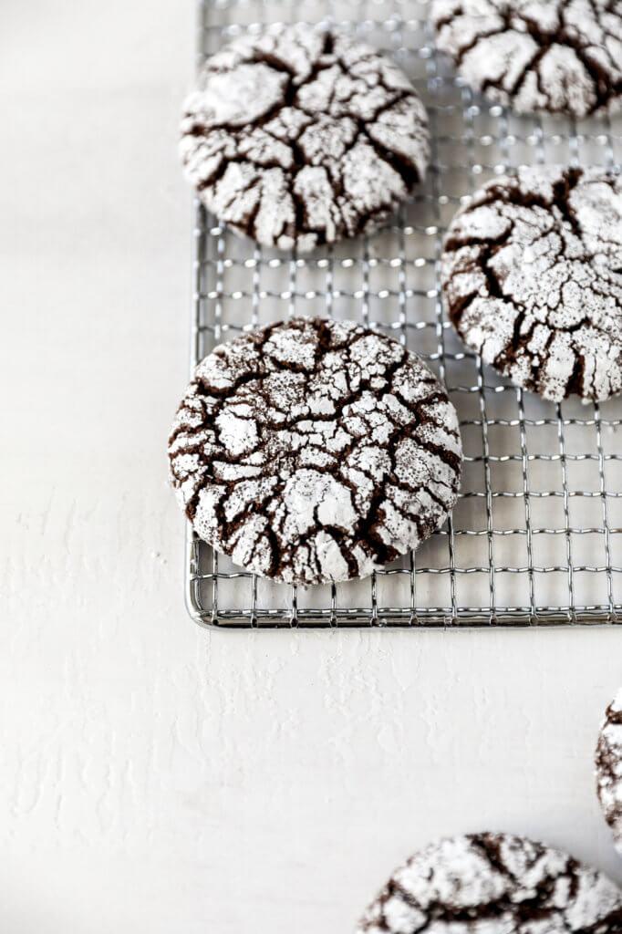 Gluten-free Chocolate Crinkle Cookies: Jessi's Kitchen