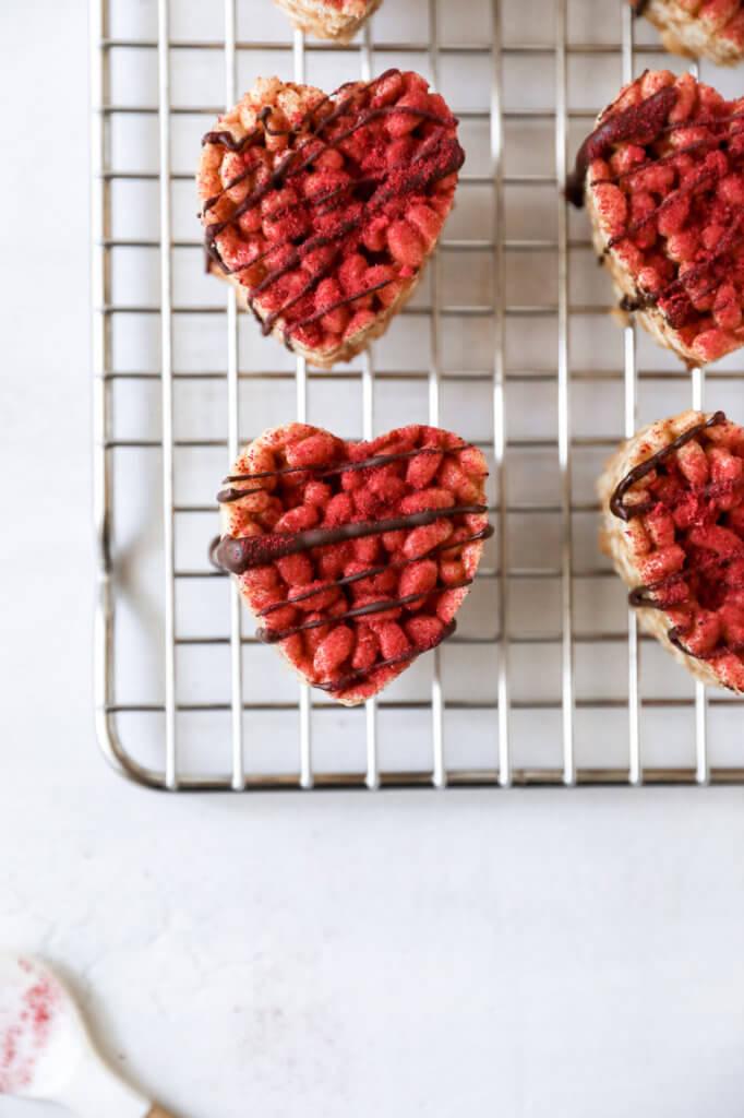 Brown Rice Peanut Butter Crispy Treats: Jessi's Kitchen